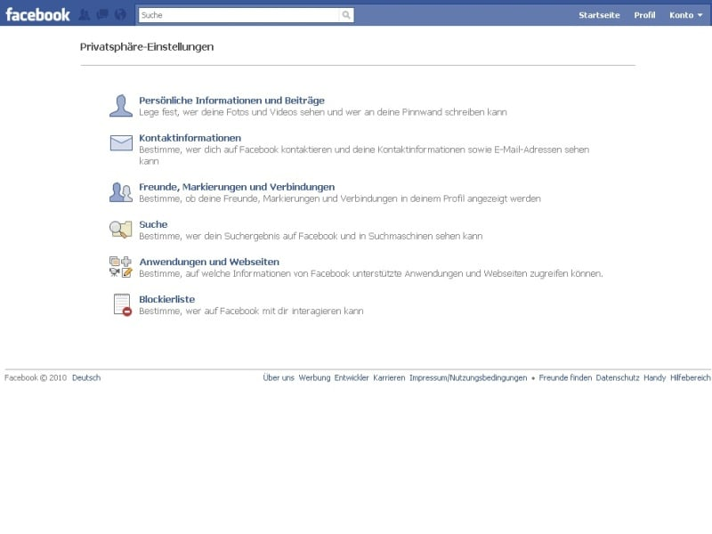 Facebook mit Sicherheitsversprechen