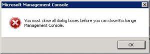 Internet Explorer 9 korrumpiert die Exchange Management Console