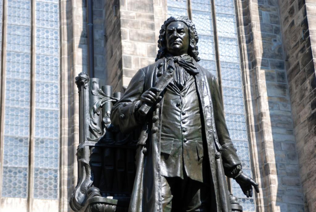 Denkmal von Johann Sebastian Bach im Thomaskirchhof, Leipzig - mit freundlicher Genehmigung von Andreas Schmidt / Leipziger Touristik- und Marketing GmbH