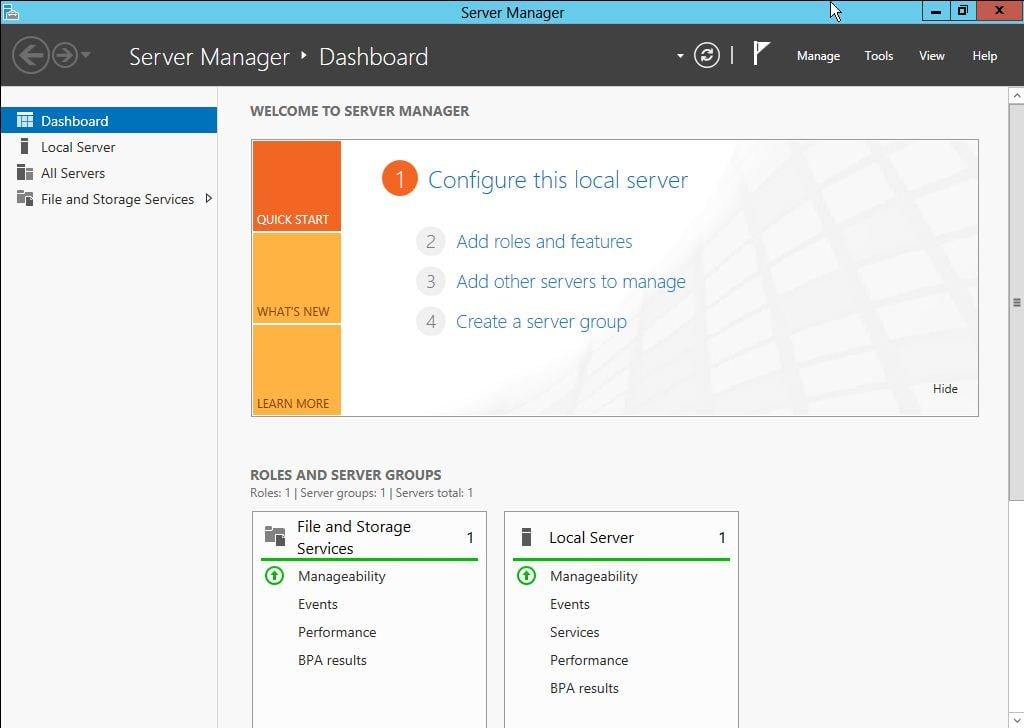 Windows Server 8 Beta installieren