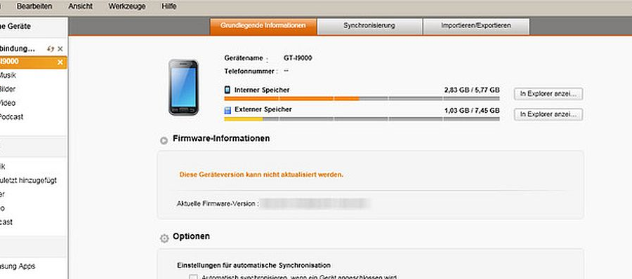 """Samsung-KIES-Fehlermeldung: """"Fehlende Hardware-ID"""" - Ursache und Lösung bei Windows 7"""