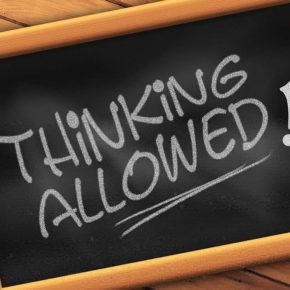 Denken erlaubt – (C) Geralt Altmann CC0 via Pixabay.de
