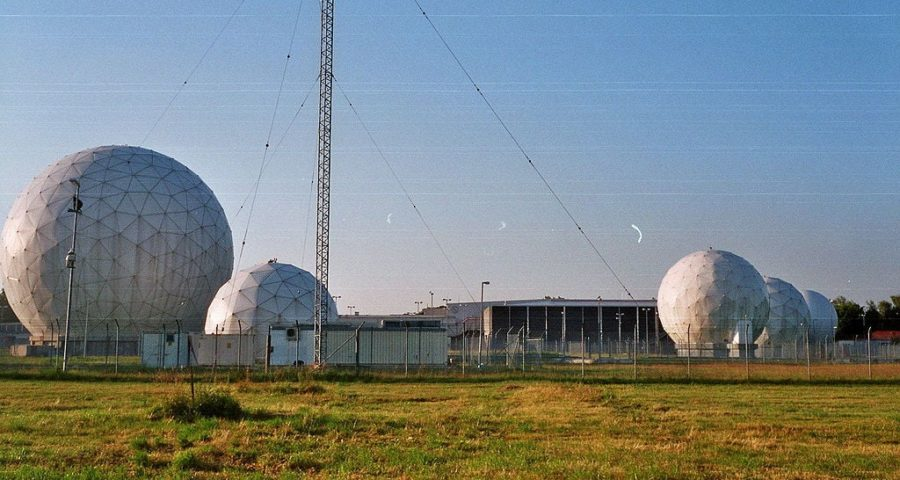 Echelon Field Station 81 (Bad Aibling Station) - (C) Public Domain via Wikimedia Commons