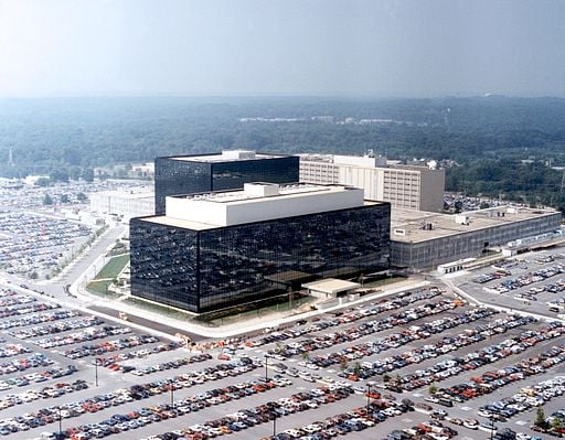 """Crypto City"" - Hauptquartier der NSA - (C) Public Domain by ""Unknown"" via Wikimedia Commons"