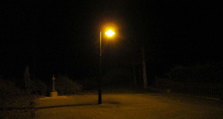 """Meine """"Darkness at the edge of town"""""""