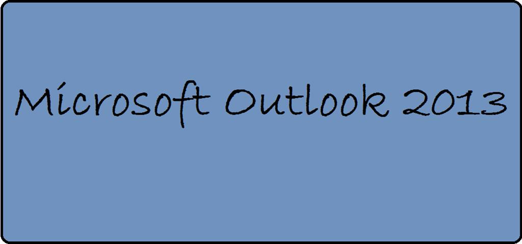 Outlook 2013 mit leerer Ordnerspalte