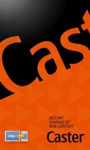Samsung Caster - Startbildschirm - Screenshot Henning Uhle