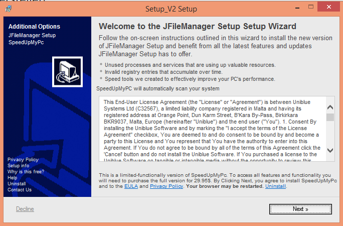 "Installationsfenster des ""Download-Managers"" - (C) Henning Uhle"