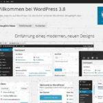 In eigener Sache: Webseite arbeitet jetzt mit WordPress 3.8