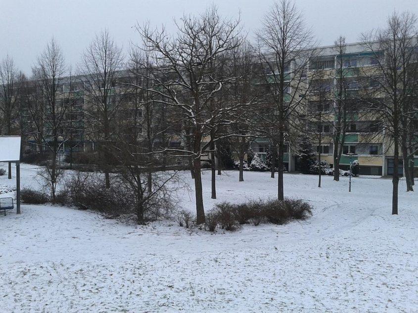 Winter in Leipzig-Grünau - Foto by Henning Uhle