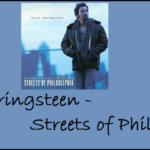 """20 Jahre """"Streets of Philadelphia"""" von Bruce Springsteen"""