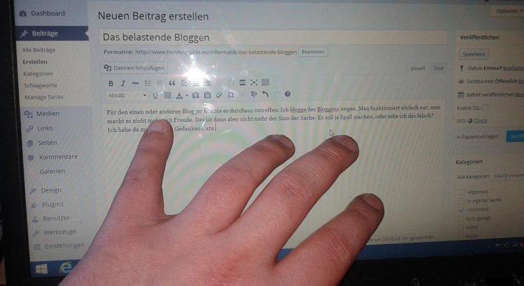 Hands on Blogging - Henning Uhle