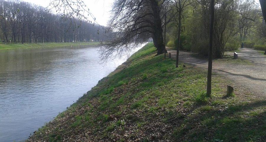 Weiße Elster zwischen Elsterwehr und Palmengarten - Henning Uhle