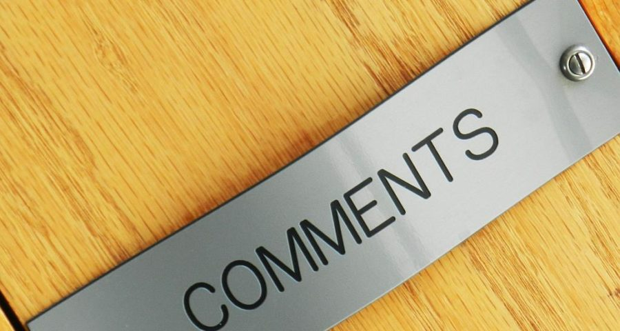 Comments / Kommentare - (C) free picture by pippalou via morguefile.com