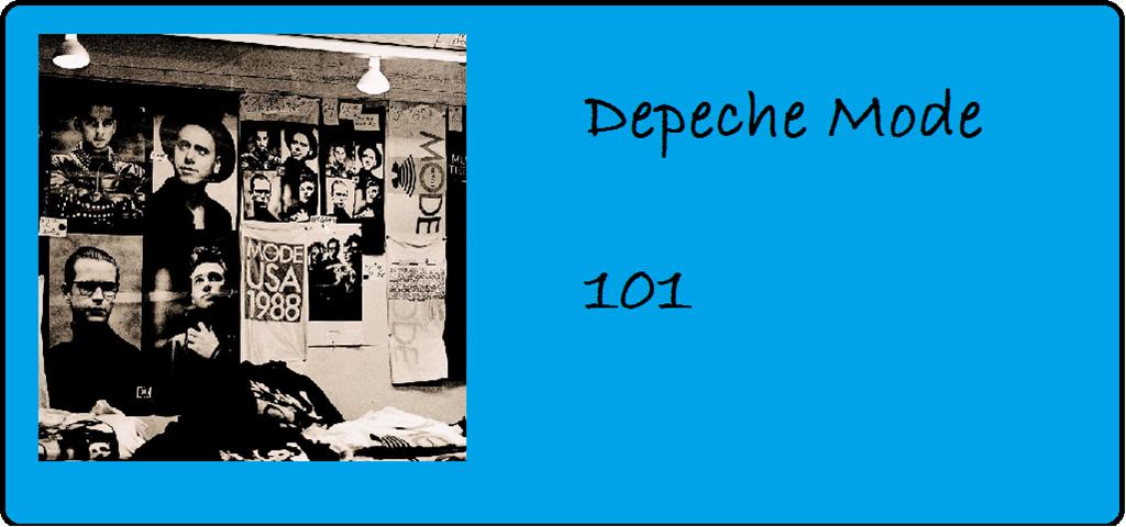 """25 Jahre """"101"""" von Depeche Mode"""