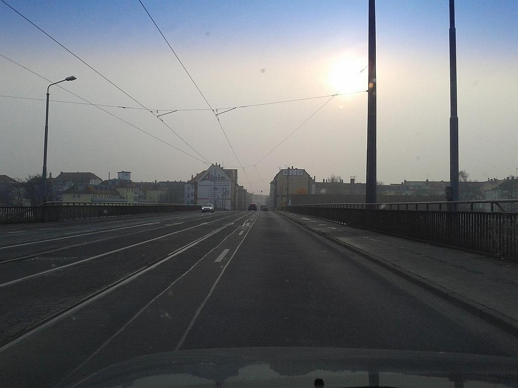 Leipzig, Antonienbrücke in Richtung Leipzig-Plagwitz - Henning Uhle
