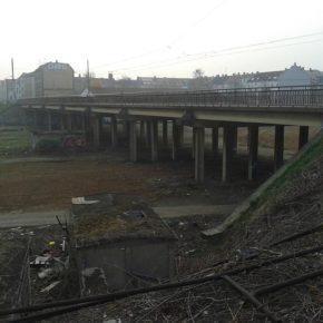 Östliche Antonienbrücke über die Plagwitzer Gleisanlagen - Henning Uhle