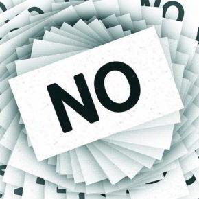 No! - (C) Geralt Altmann via Pixabay