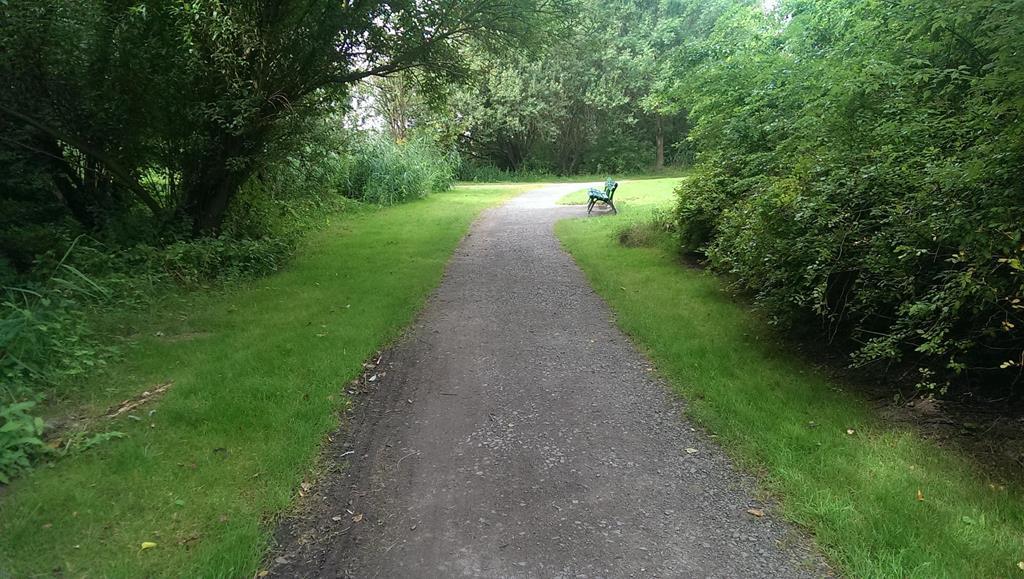 Zugang zum Erholungspark und zum See - Henning Uhle