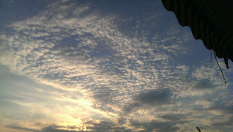 Sonne-Wolken-Mix - (C) Heidi Lange