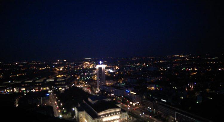 Blick über Leipzig mit Oper und Hauptbahnhof - Henning Uhle