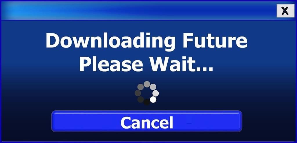 Downloading Future - (C) Geralt Altmann via pixabay.de
