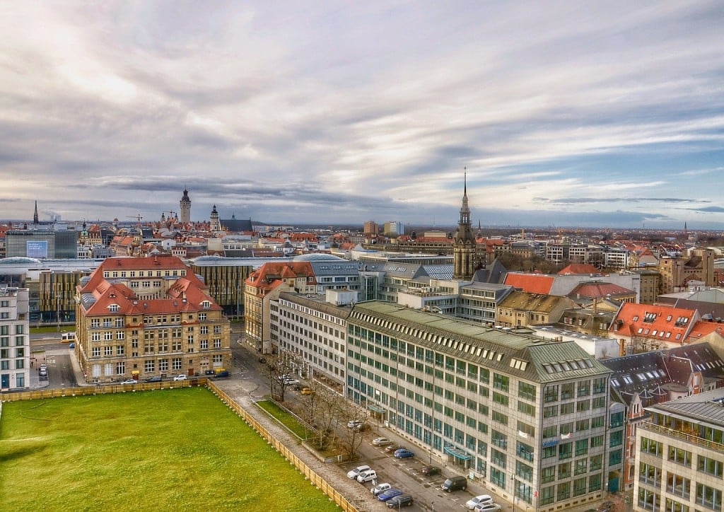 Blick über Leipzig - wolter_tom, CC0 via pixabay.de