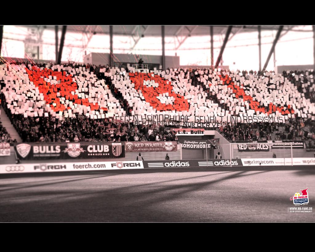 Choreo der Fans von RB Leipzig - (C) RB-Fans.de
