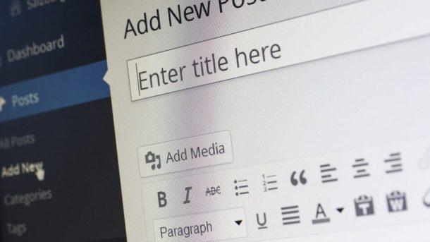 WordPress Dashboard - (C) Pixelcreatures via pixabay.de