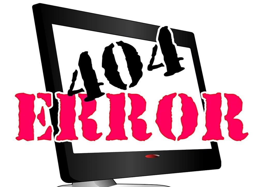 Fehler 404 - Datei nicht gefunden - (C) Geralt Altmann via Pixabay.de