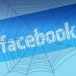 Facebook-Wurm mit Profilbildern