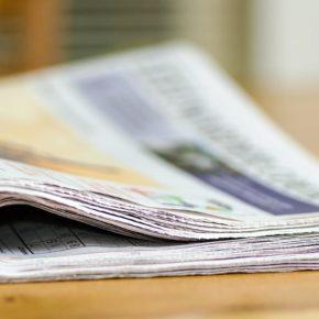 """Eine Zeitung vom """"Leeuwarder Courant"""" - (C) Andrys CC0 via Pixabay.de"""
