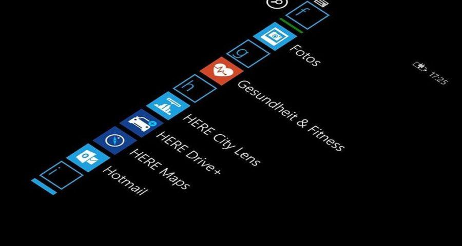 Windows Phone Screenshot