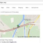 Leipzig – Ominöse Baustelle an der Paußnitzbrücke