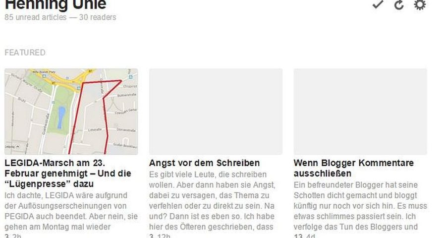 WordPress Toolbox Modul für Featured Images im RSS Feed