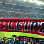 RB Leipzig und der Thomanerchor gegen den FSV Frankfurt
