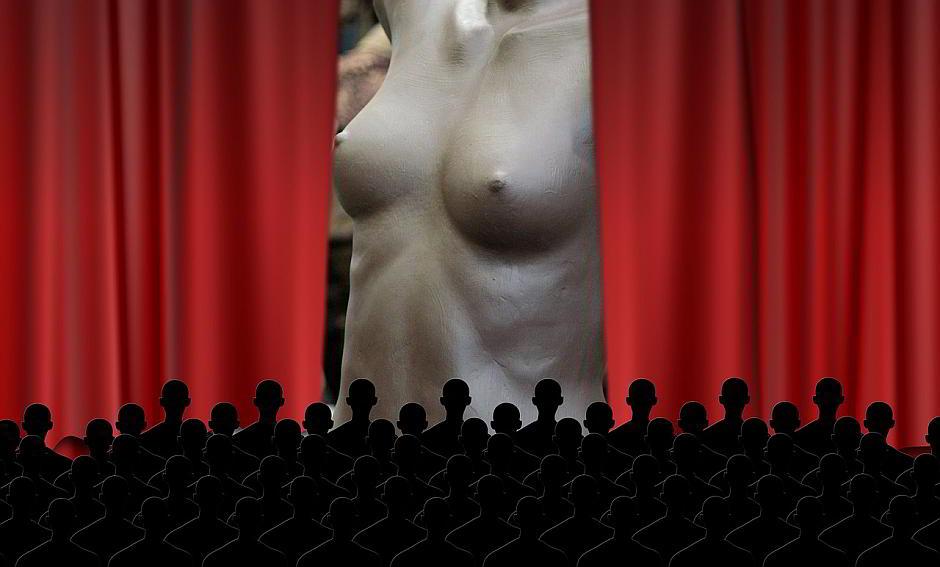 Hingucker durch Nacktheit - (C) Geralt Altmann CC0 via Pixabay.de