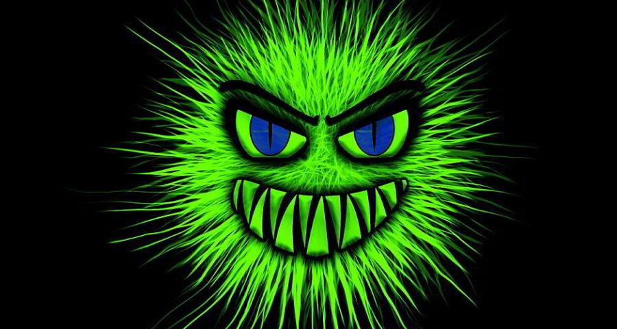Das Monster als Virus - (C) Geralt Altmann CC0 via Pixabay.de