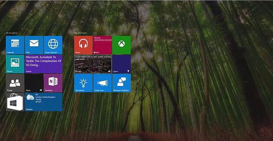 Windows 10 Desktop / WinBeta