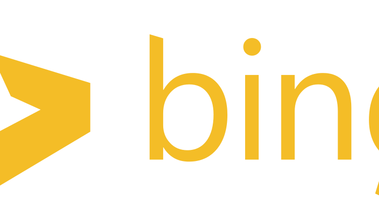 Bing-Logo ab 2013 - By Logo is made by Microsoft. SVG version is created and uploaded by AxG (talk · contribs). [Public domain], via Wikimedia Commons