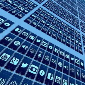 Dieses Internetz - Icons sozialer Netzwerke - (C) Geralt Altmann CC0 via Pixabay.de