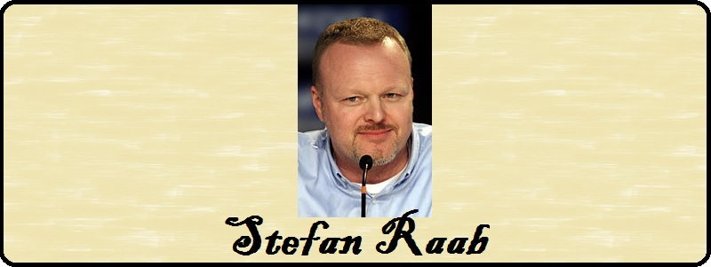 Stefan Raab zur Pressekonferenz beim ESC 2010 - By Stefan_Raab-2.jpg: Daniel Kruczynski derivative work: César (Stefan_Raab-2.jpg) [CC BY-SA 2.0 (http://creativecommons.org/licenses/by-sa/2.0)], via Wikimedia Commons