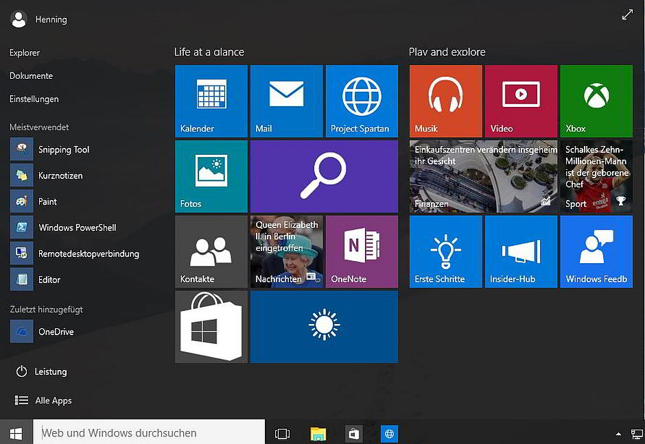 Windows 10 Insider Preview 10130