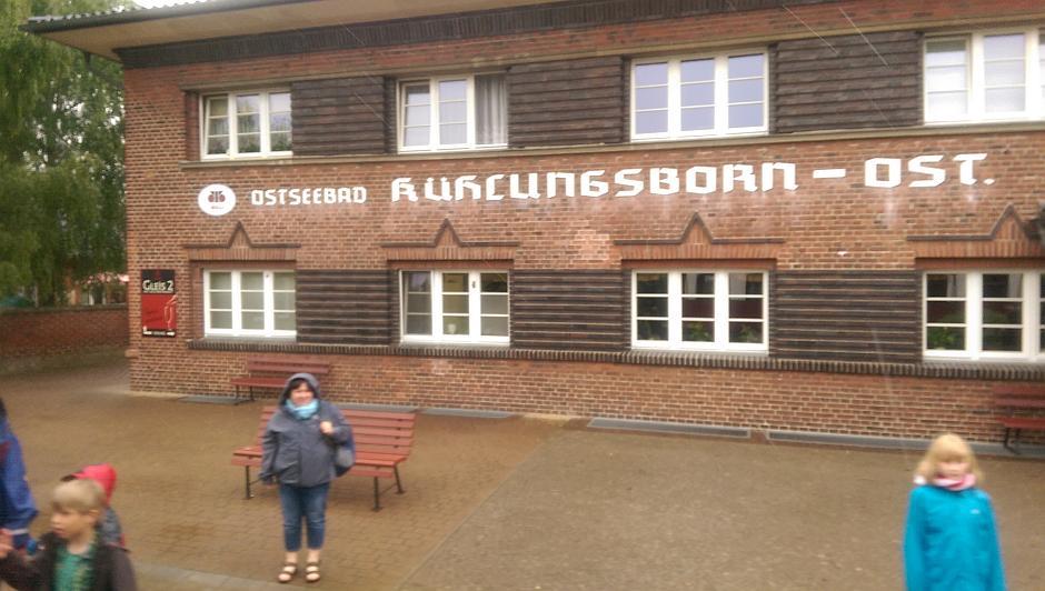 Der Bahnhof Kühlungsborn-Ost