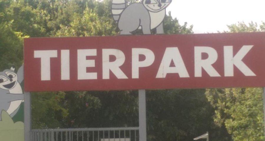 Eingang zum Tierpark Wismar