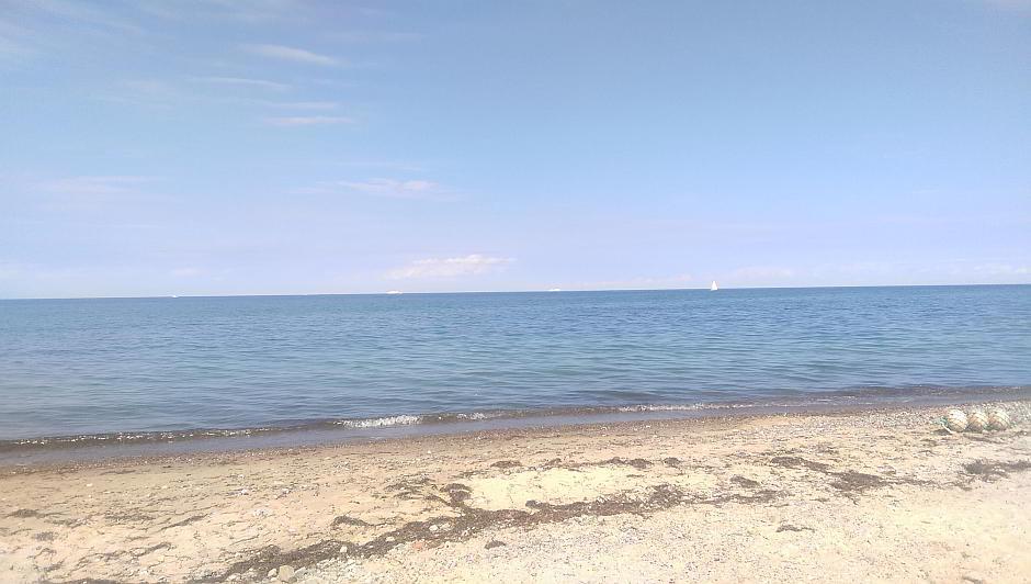 Die Weite der Ostsee an der Hohen Düne
