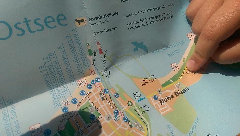 Die Hohe Düne in Rostock