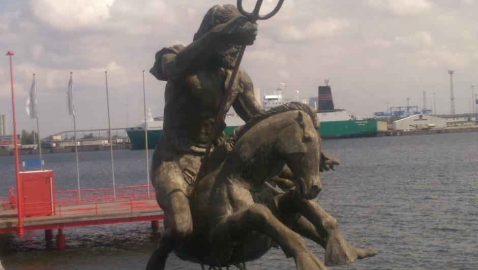 Neptun im Schiffbau- und Schifffahrtsmuseum