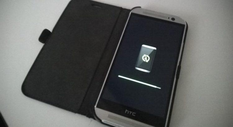 HTC One M8 beim Update
