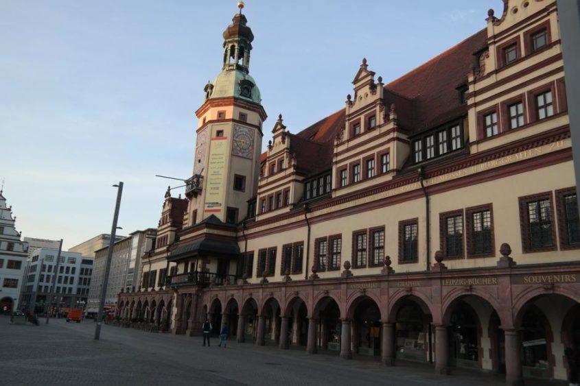 Leipzig, Altes Rathaus - (C) carinaott0 CC0 via Pixabay.de